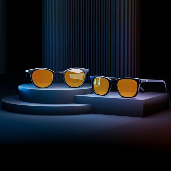 Éjszakai kékfény-szűrő, alvássegítő monitorszemüvegek